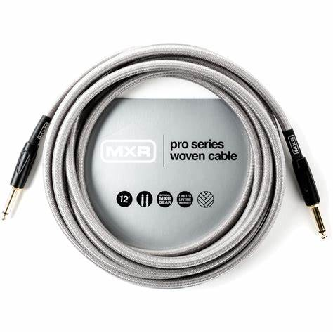 MXR DCIW12 12' Pro Series Woven Instrument Cable