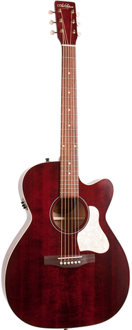 Art & Lutherie Legacy Series Concert Hall Cutaway QIT, Tennessee Red