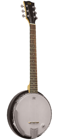 Gold Tone AC-6+ Resonating 6 String Electric/Acoustic Banjo