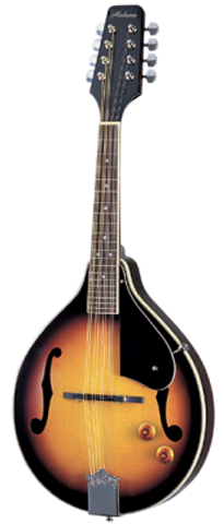 Alabama ALM20E A-Style Acoustic-Electric Mandolin, Amber Sunburst