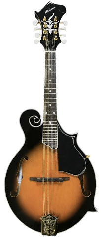 Alabama ALM45 F-Style Acoustic Mandolin, Tobacco Sunburst