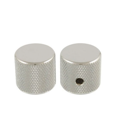 All-Parts Chrome Barrel Knobs (2 Pack)