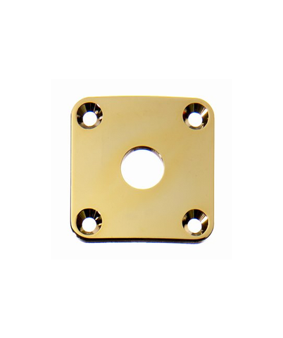 All-Parts Jackplate, Square, Gold