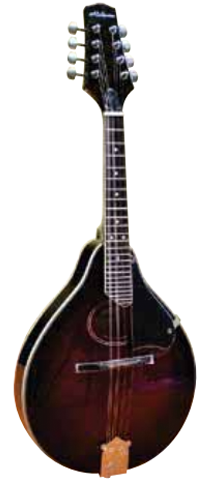 Alabama ALM18 A-Style Arch-Top Mandolin, Red Sunburst