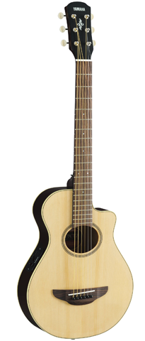 Yamaha APXT2 - 3/4 Scale Thinline Acoustic-Electric Cutaway, Natural