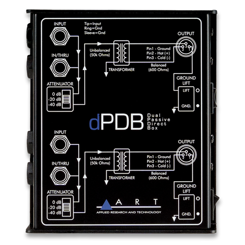 ARTcessories dPDB Dual Passive Direct Box