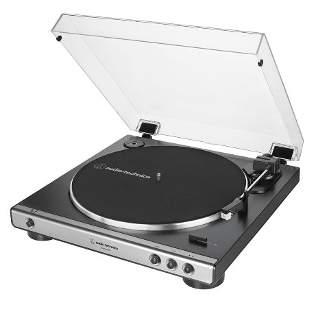 Audio-Technica ATLP60X Fully Automatic Belt-Drive Turntable - Gun Metal