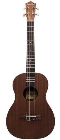 Beaver Creek Baritone Size Acoustic-Electric Ukulele, Mahogany