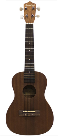 Beaver Creek Concert Size Acoustic-Electric Ukulele, Mahogany