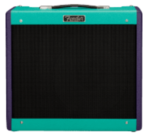 2020 LIMITED EDITION FENDER BLUES JUNIOR™ IV, EMINENCE® CANNABIS REX™ - TWO-TONE PURPLE/SEAFOAM