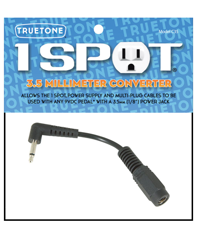 "Truetone C35 3.5mm (1/8"") Converter for 1 Spot"