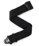 "D'Addario / Planet Waves 2"" Nylon Auto Lock Padded Guitar Strap, Black"