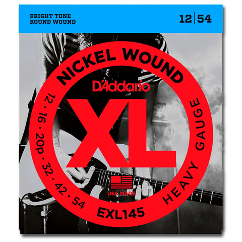 D'Addario EXL145 Nickel Electric Guitar Strings, Heavy