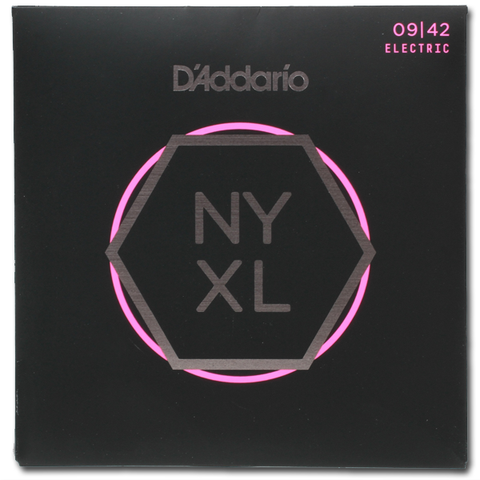 D'Addario NYXL0942 Electric Strings, Super Light