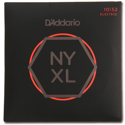 D'Addario NYXL1052 Electric Strings, Light w/ Heavy Bottom