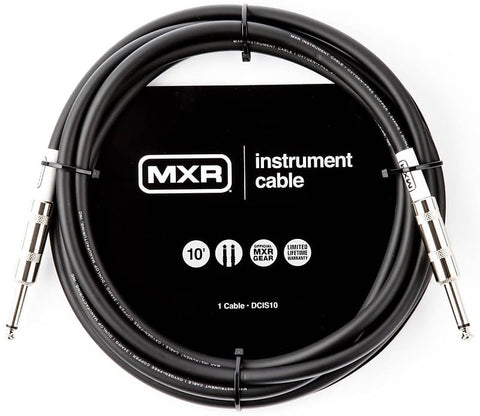 BLACK FRIDAY SALE! MXR DCIS10 10' Standard Instrument Cable