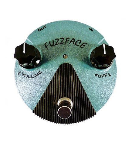 Dunlop FFM3 Jimi Hendrix Fuzz Face Mini Distortion Effects Pedal