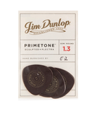 Dunlop Primetone 515P Semi-Round Sculpted Plectra Picks Player Pack (3 Pack) - 1.3mm
