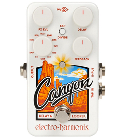 Electro-Harmonix Canyon Delay and Looper Effects Pedal