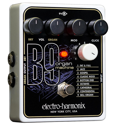 Electro-Harmonix Organ Machine B9 Guitar Effects Pedal