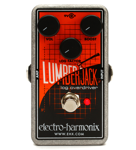 Electro-Harmonix Lumberjack Logarithmic Overdrive Guitar Effects Pedal