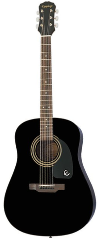 Epiphone DR-100 Acoustic, Black
