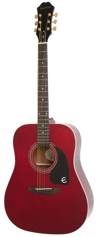 Epiphone DR-100 Special Edition in Wine Red w/Gold Hardware