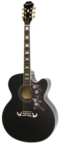 Epiphone EJ-200CE Acoustic-Electric, Black