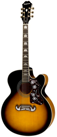 Epiphone EJ-200CE Acoustic-Electric, Vintage Sunburst