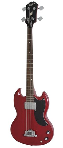 Epiphone EB-0 Short Scale Bass, Cherry