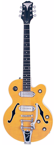Epiphone Wildkat with Vibrotone, Antique Natural