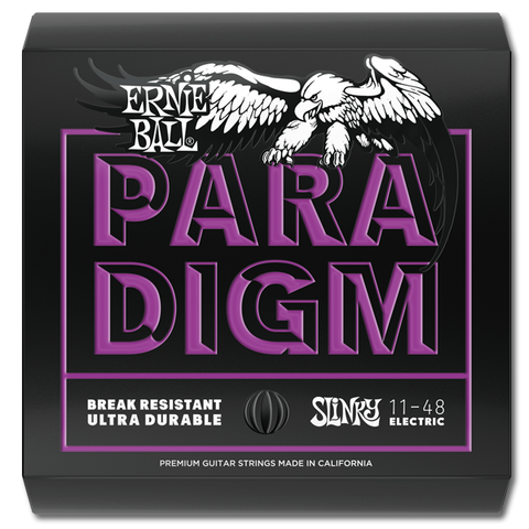 Ernie Ball 2020 Paradigm Power Slinky Electric Guitar Strings, 11 - 48