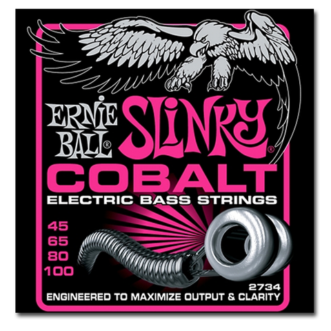 Electric - Ernie Ball 2734 Cobalt Super Slinky Electric Bass Strings