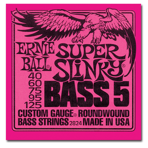 Electric - Ernie Ball 2824 Super Slinky 5-String Bass Strings