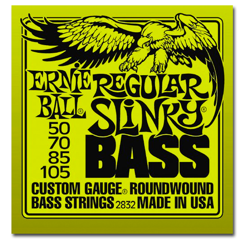 Electric - Ernie Ball 2832 Regular Slinky Round Wound Power Bass Strings