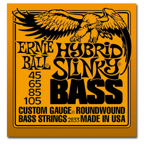 Electric - Ernie Ball 2833 Hybrid Slinky Round Wound Bass Guitar Strings