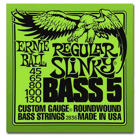 Electric - Ernie Ball 2836 Regular Slinky 5-String Bass Strings
