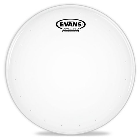 "Evans Level 360 Genera Dry 14"" Coated Snare Batter Head"