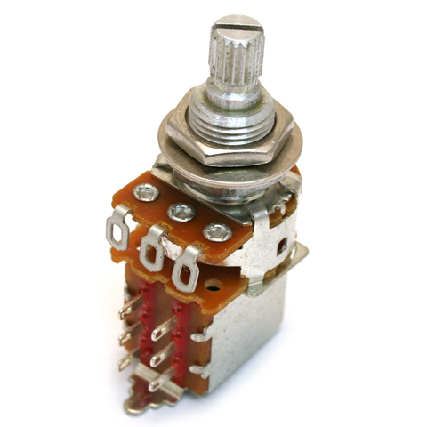 Fender 250K Push / Pull Split Shaft Potentiometer
