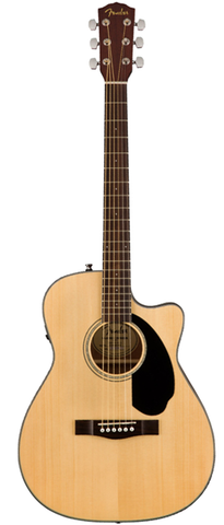 Fender CC-60SCE Concert Size Acoustic-Electric, Natural