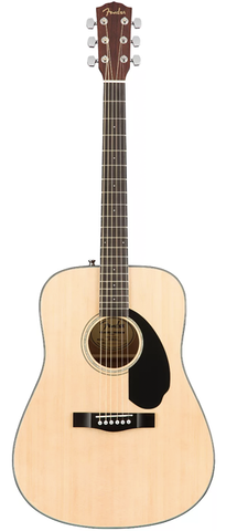 *Fender CD-60S Dreadnought Acoustic, Natural - BEST SELLER!