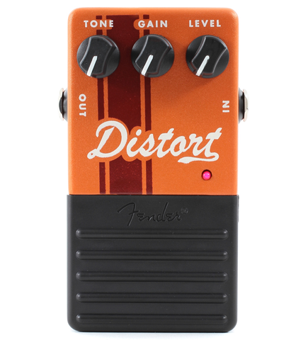 Fender Competition Distortion Guitar Effects Pedal
