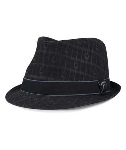 Fender Axe Plaid Fedora Hat (S/M, L/XL)