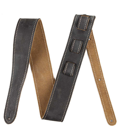 "Fender 2"" Road Worn Guitar Strap, Black"