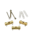 Fender Vintage Brass Telecaster Saddles (3 Pack)