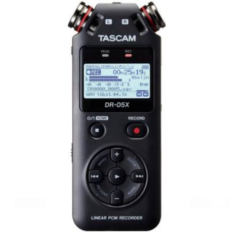 Tascam DR-05X Stereo Handheld Digital Audio Recorder w/USB Audio Interface