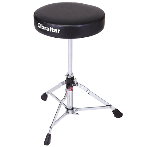 Gibraltar 5608 Motorcycle Round Vinyl Drum Throne