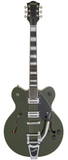 Gretsch G2622T Streamliner Center Block with Bigsby, Broad'Tron Pickups - Torino Green