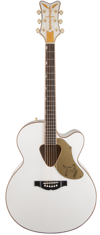 Gretsch G5022CWFE Rancher Falcon Jumbo Acoustic-Electric - White