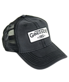 Gretsch Vintage Trucker Cap with 1883 Logo Patch, Black
